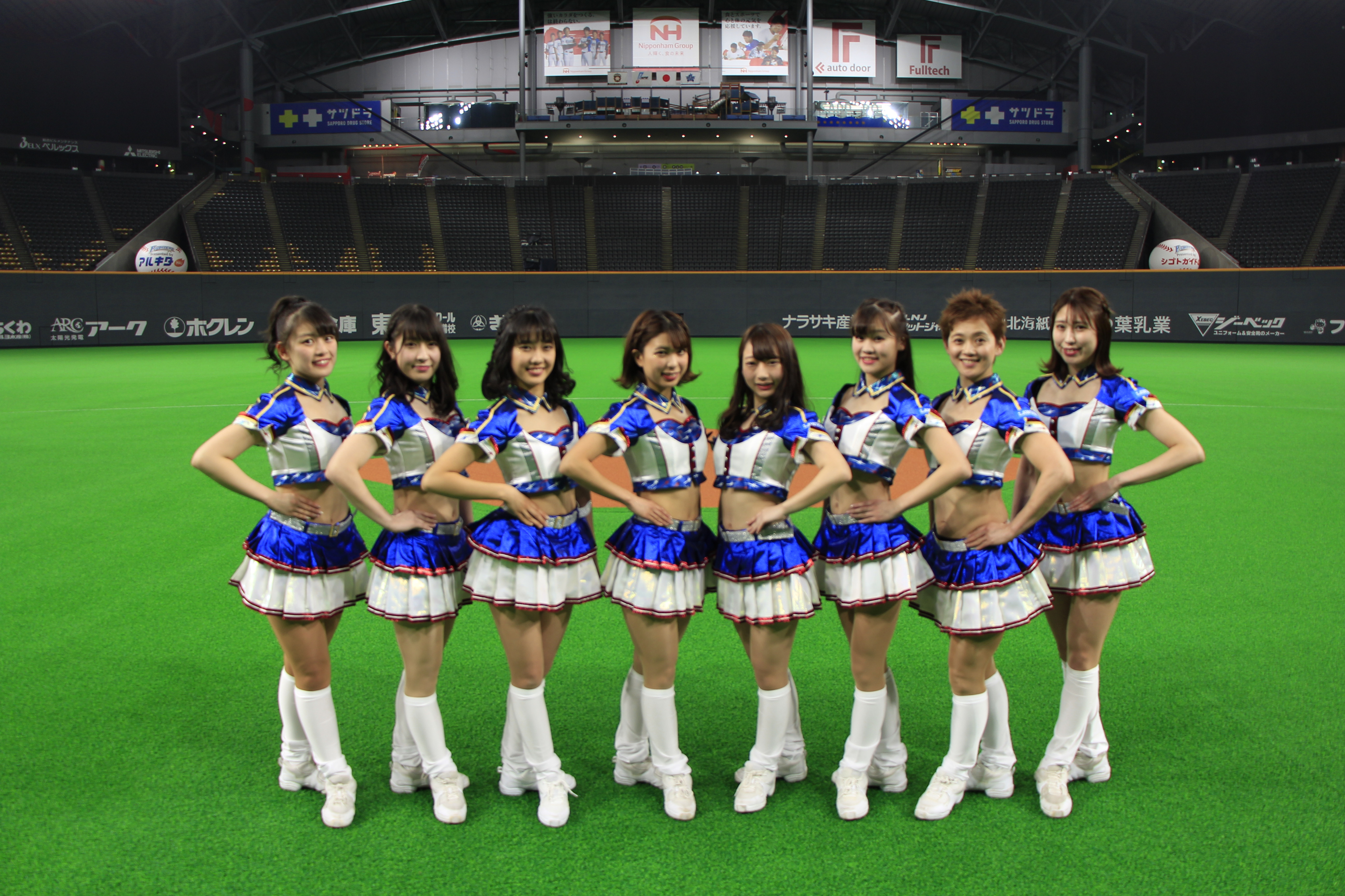OSARECOMPANY designs and produces the costume for the Fighter Girls〜OSARECOMPANY hypes up the Hokkaido Nippon-Ham Fighters 2019 Season with new costumes!!〜